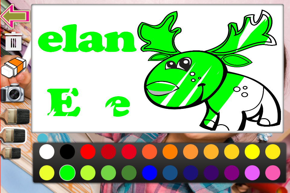 Screenshot 30 Animaux A Colorier Gratuitement